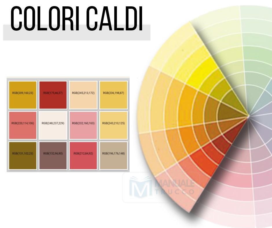 Lezione 5 I Colori Caldi E I Colori Freddi Nel Trucco Manuale