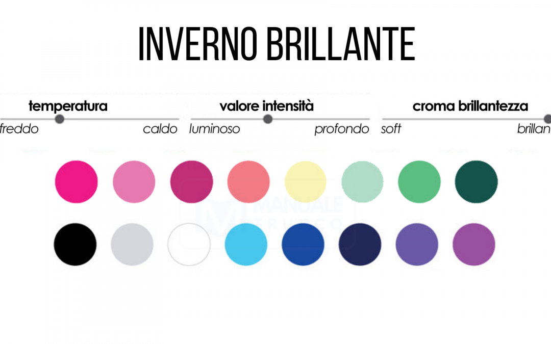 Armocromia-Make-up Stagione Inverno Brillante