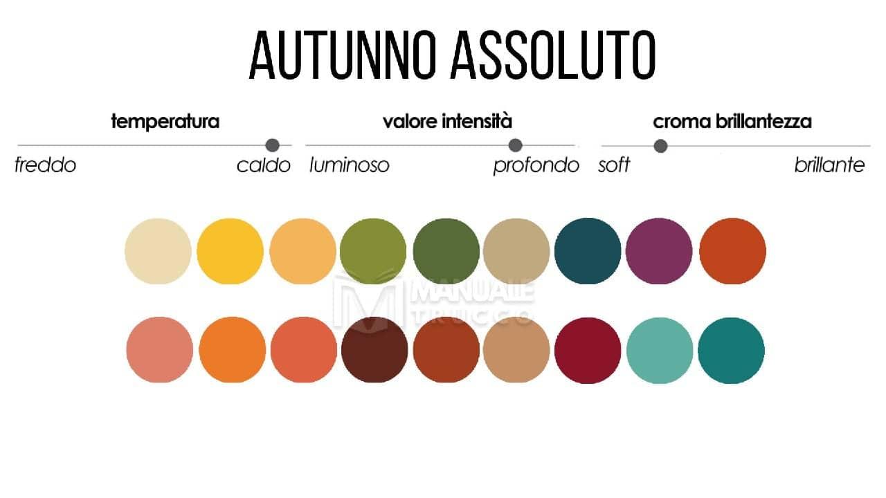 Colori Che Stanno Bene Insieme colori make-up stagione autunno assoluto - [capitolo 5