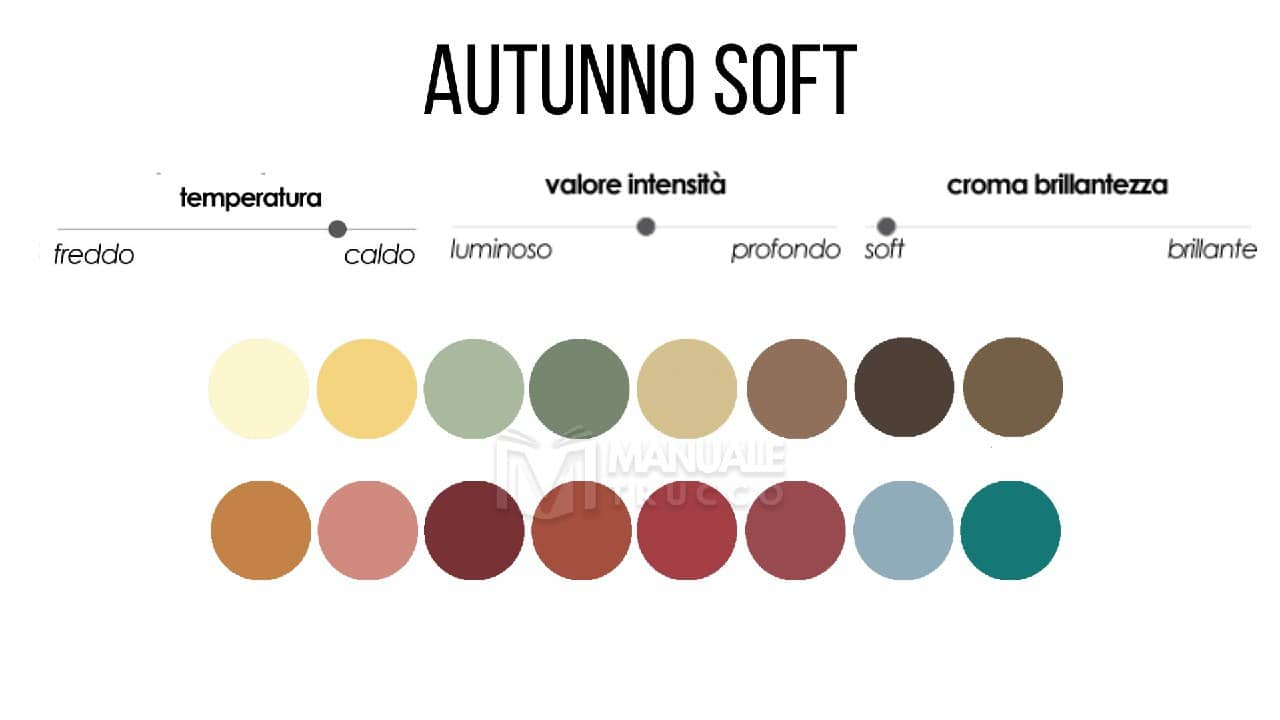 Colori Che Stanno Bene Insieme colori make-up stagione autunno soft (asc e asp) - manuale