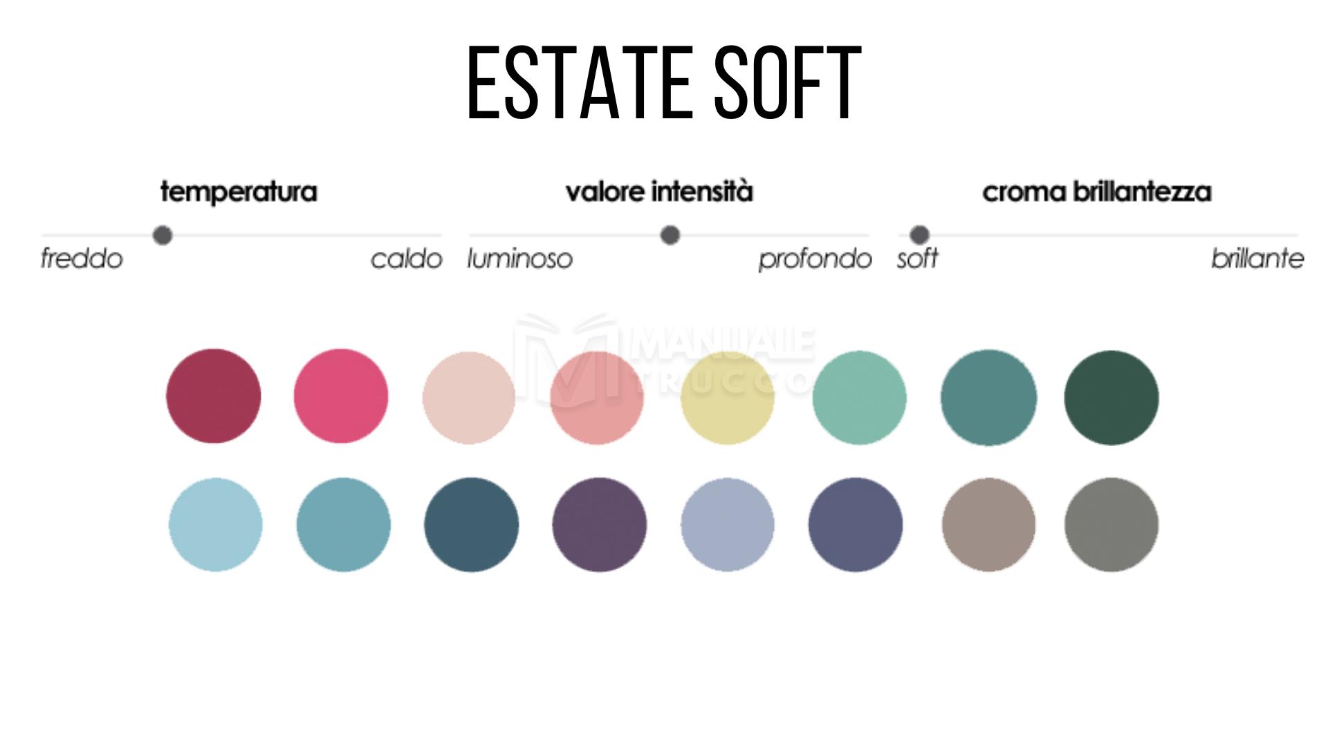 Colori Che Stanno Bene Insieme colori make-up stagione estate soft (esp e esc) - manuale